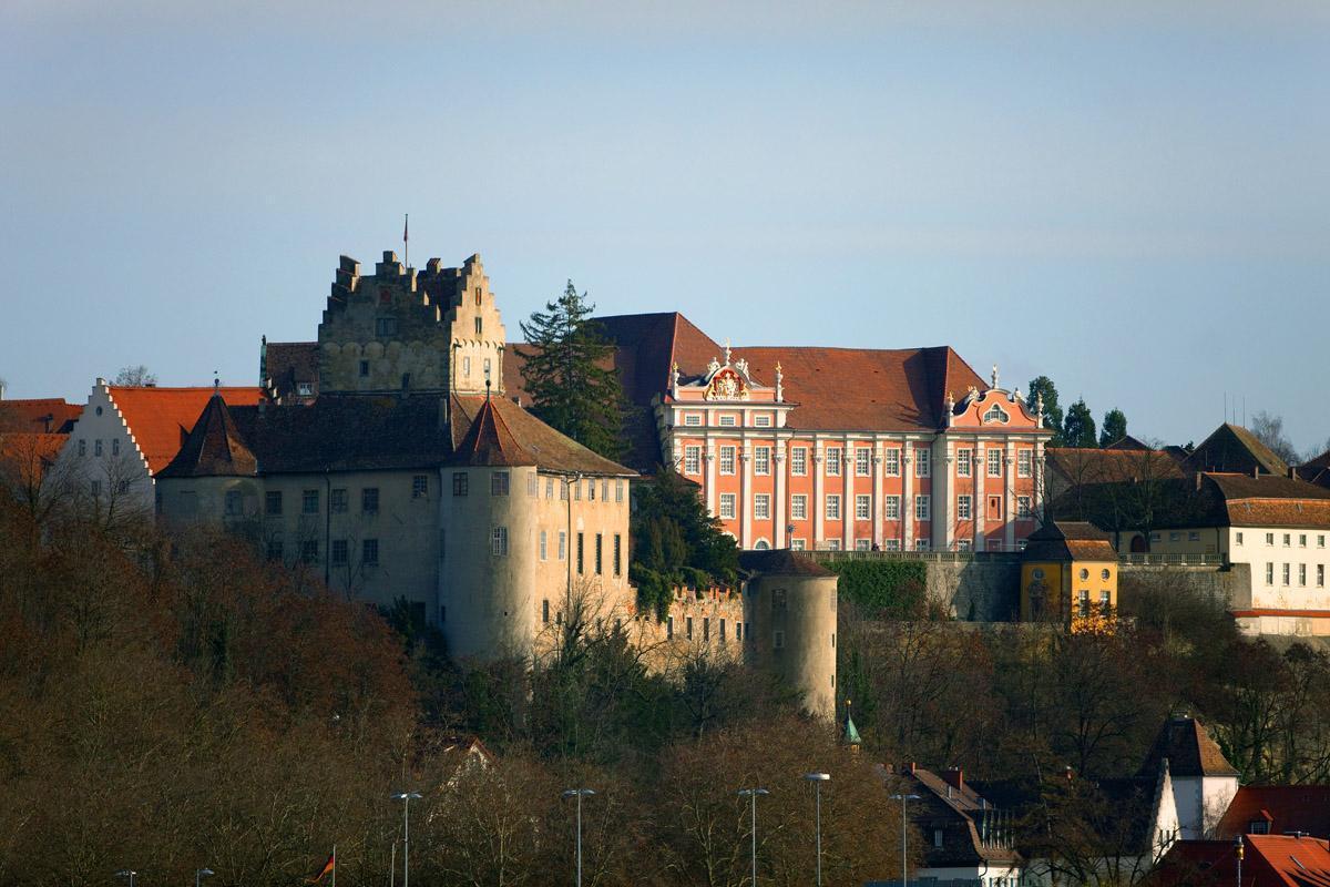 Exterior of Meersburg New Palace. Image: Staatliche Schlösser und Gärten, Achim Mende