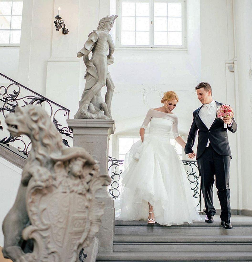 Meersburg New Palace, wedding