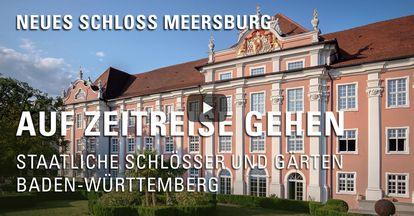 """Startbildschirm des Filmes """"Zeitreise mit Michael Hörrmann: Neues Schloss Meersburg"""""""