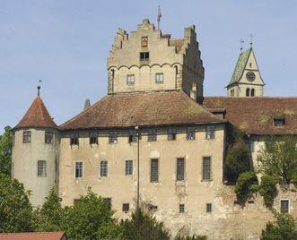 Exterior of Meersburg Castle. Image: Staatliche Schlösser und Gärten Baden-Württemberg, Andrea Rachele