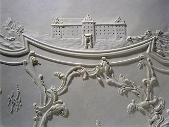 Neues Schloss Meersburg, Stuckdetail