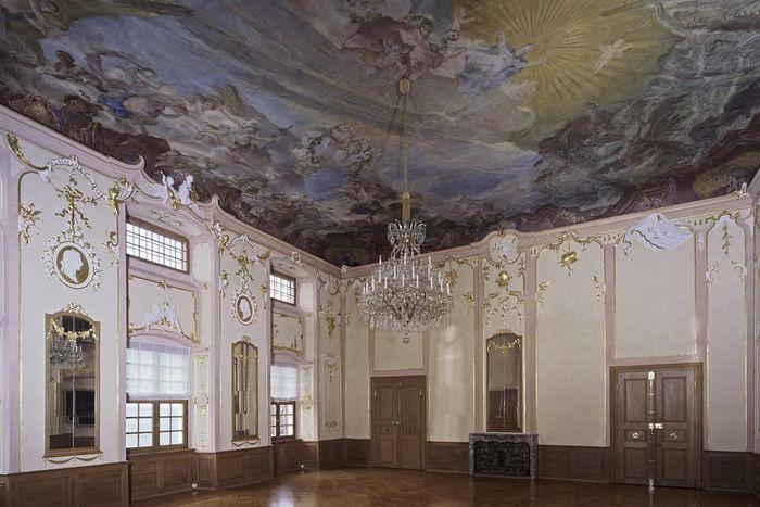 Meersburg New Palace, Ceremonial hall