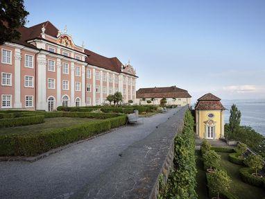 Neues Schloss Meersburg, von dort kann man auf den Bodensee schauen