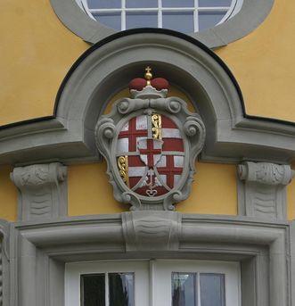 Detail of the facade. Image: Vermögen und Bau Baden-Württemberg, Ravensburg office, Joachim Feist