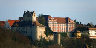 Image: Exterior of Meersburg New Palace