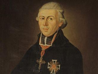 Fürstbischof Carl Theodor von Dalberg, Öl auf Leiwand 1803