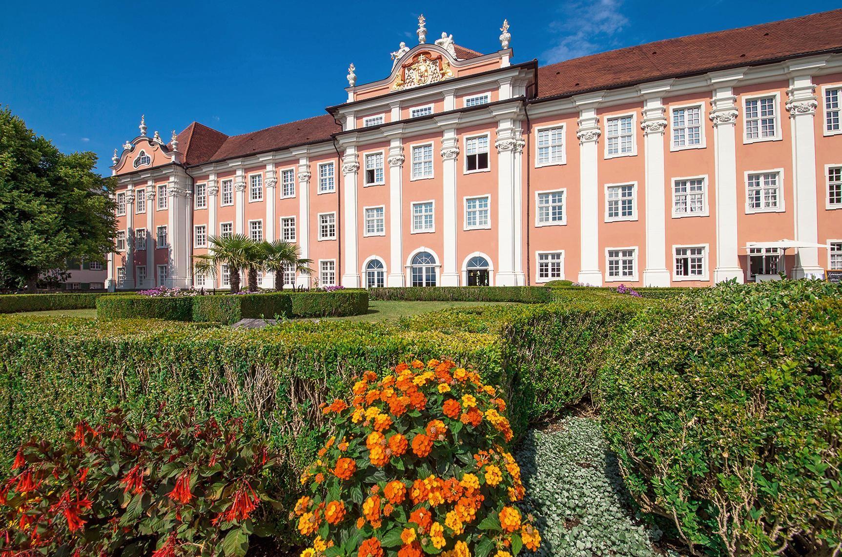 Nouveau Château de Meersburg; l'image: Staatliche Schlösser und Gärten Baden-Württemberg, Helmuth Scham
