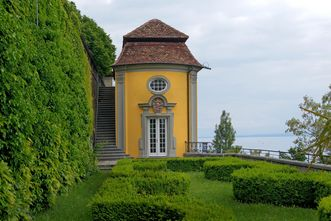 Pavilion and/or teahouse, Meersburg New Palace. Image: Joachim Feist