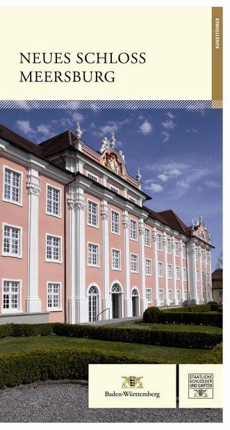"""Deckblatt des Führers """"Neues Schloss Meersburg"""", Foto: Deutscher Kunstverlag München"""