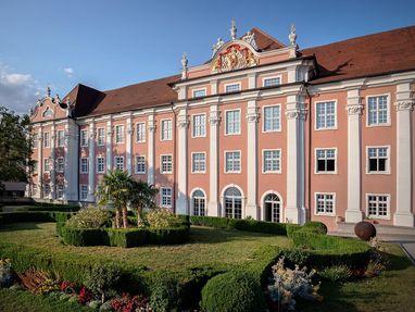 Neues Schloss Meersburg von außen