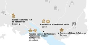 """Carte de région """"Lac de Constance"""""""