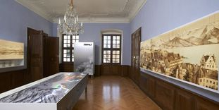 Image: View into the exhibition room, Meersburg New Palace