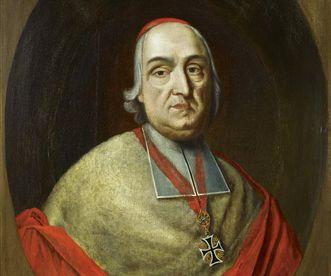 Portrait of Prince-Bishop Damian Hugo von Schönborn. Image: Staatliche Schlösser und Gärten Baden-Württemberg, Arnim Weischer